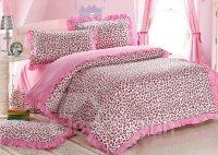 Sexy Pink Leopard Print 4 Piece Bedding Sets/Duvet Cover ...