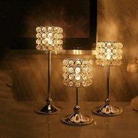 Stunning Crystal Lamp Design Candle Holder - beddinginn.com