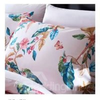 Fresh American Country Style Floral 4-Piece Print Cotton ...