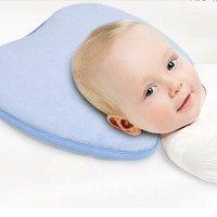 Super Soft Memory Foam Pillow Prevent Flat Head Baby ...