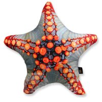 Creative 3D Starfish Shaped Hamburger Throw Pillow ...