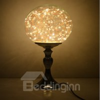 Classic Creative Dimming Control Glass Lamp Shade ...