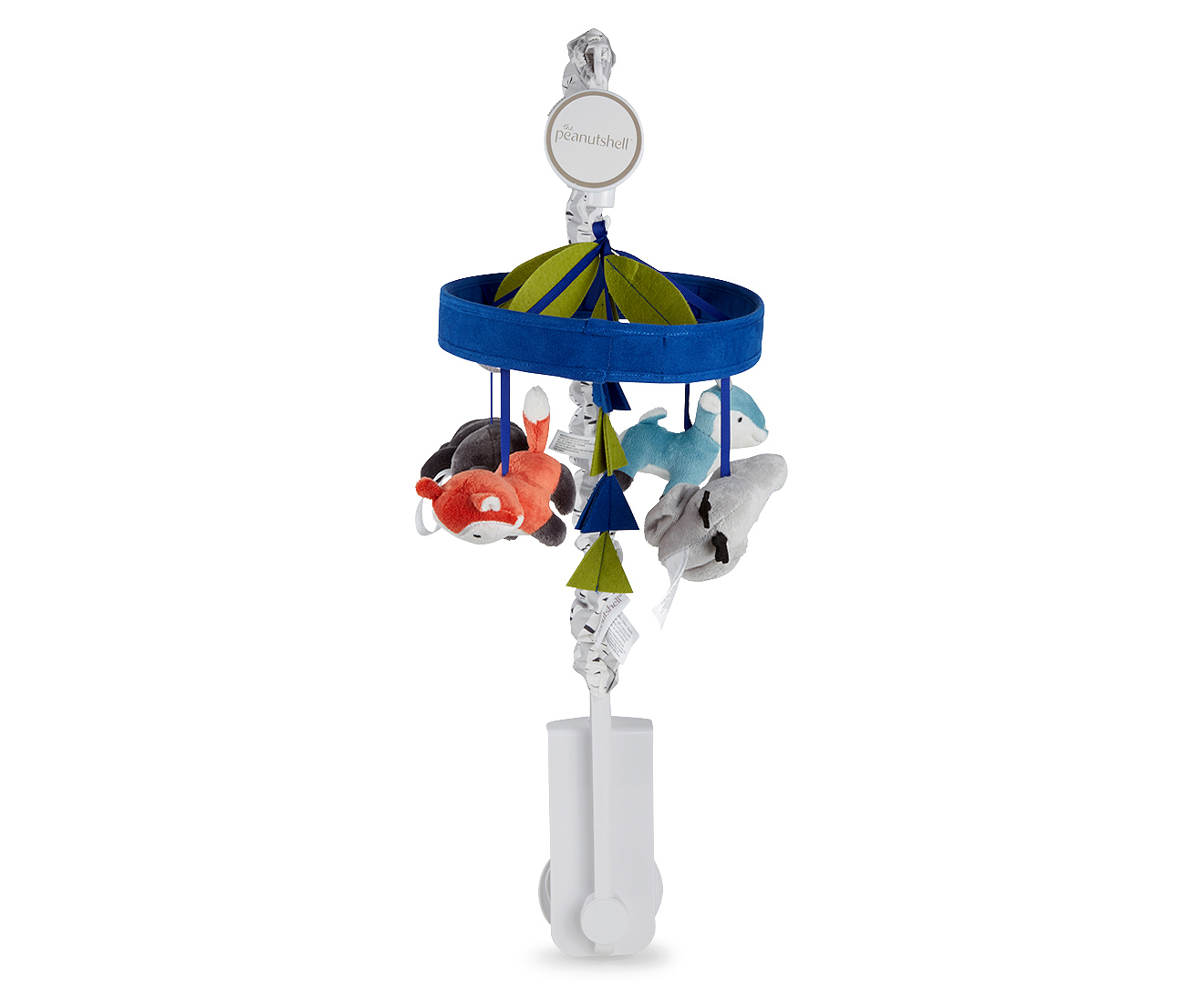 Baby Musical Mobile Australia The Peanut Shell Woodland Dreams Musical Mobile Blue