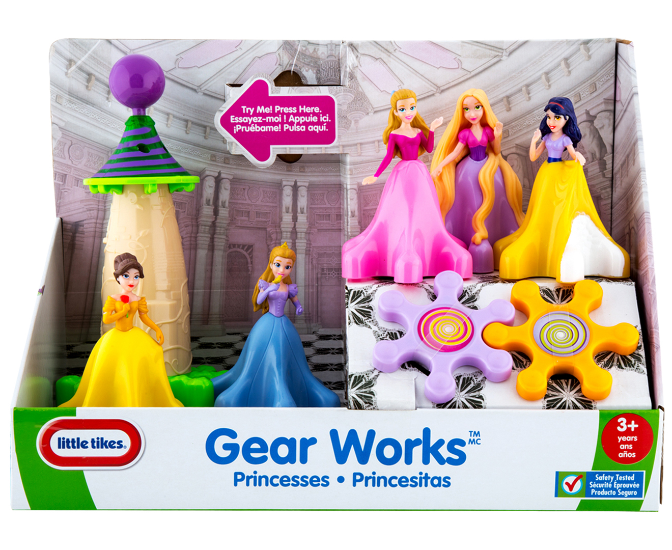 Tike Securite Notice Little Tikes Princess Gear Works Playset