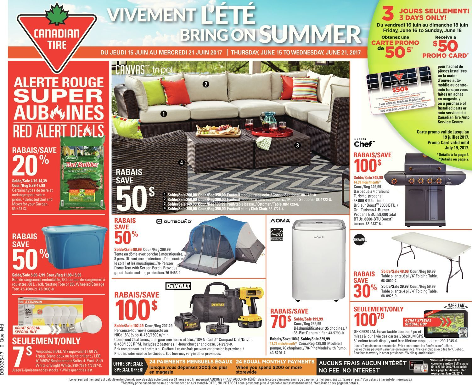 Sofa Legs Canadian Tire Canadian Tire Weekly Flyer Weekly Bring On Summer Jun 15