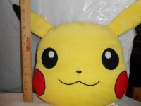Nintendo Pokemon Pikachu Pillow Head