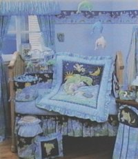KIDSLine DEL MAR Delmar 6P Baby Boy or Girl Nursery Crib ...