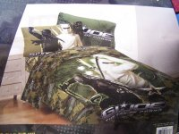 GI Joe Rise of Cobra Full Comforter & Sheet Set Bedding