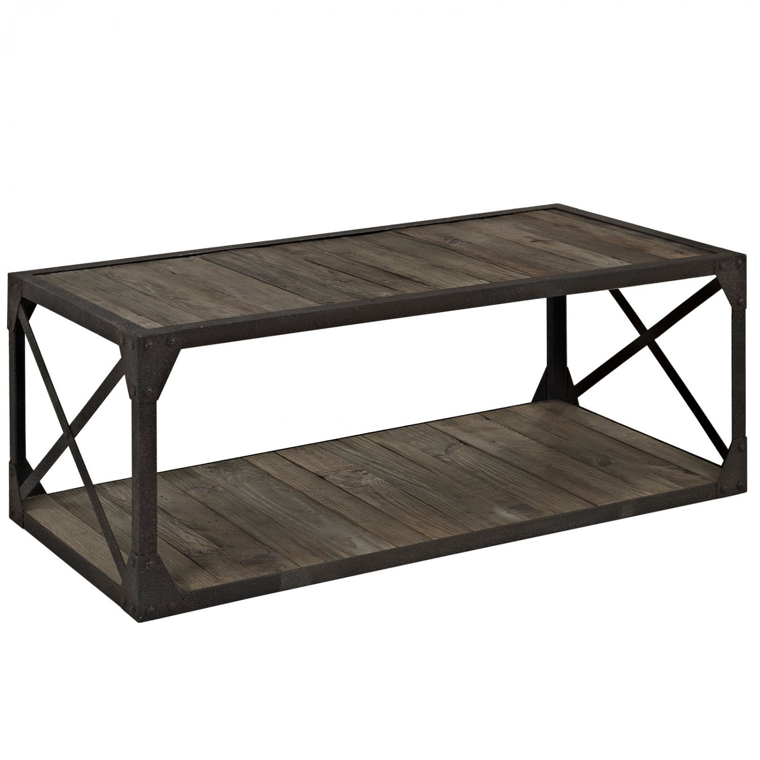Industrial Coffee Table Mathew Industrial Style Coffee Table