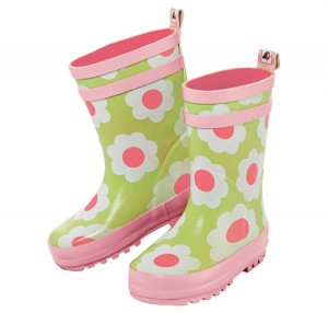 Size 8 Tiny Tillia Floral Toddler Rain Boot Rubber Boots