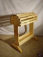 Saddle Rack Stand W Tray Plans Build It Yourself