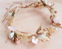 Wedding Bridal Vintage Bow Flower Crystal Tiara Pearl ...