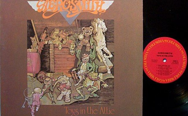 Aerosmith Toys In The Attic Vinyl Lp Record Rock