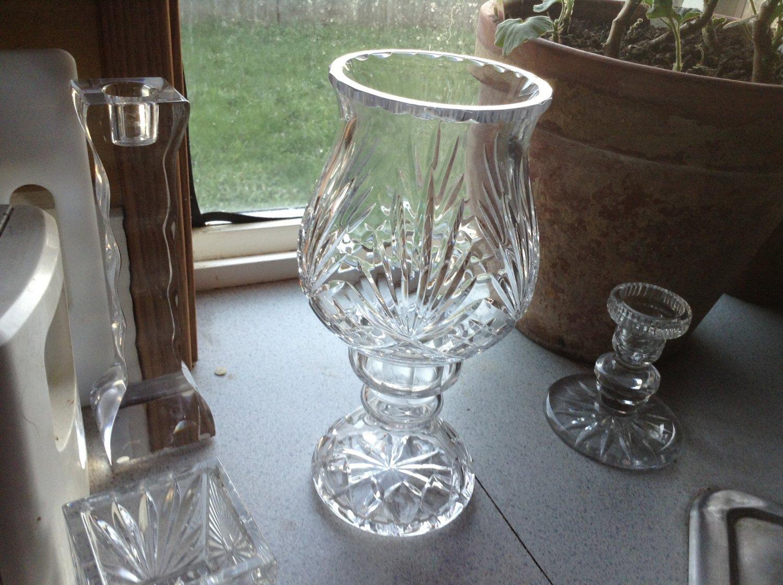 Gorham Hand Cut German Crystal 2 Piece Quotlady Anne