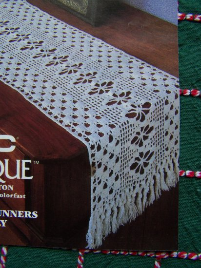 1 Cent Usa Sh Filet Crochet Cotton Thread Pattern 2 Table
