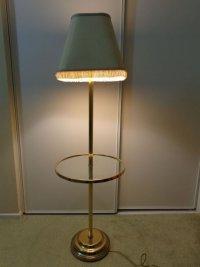 Antique/Vintage Frederick Cooper Floor Standing Lamp Glass ...