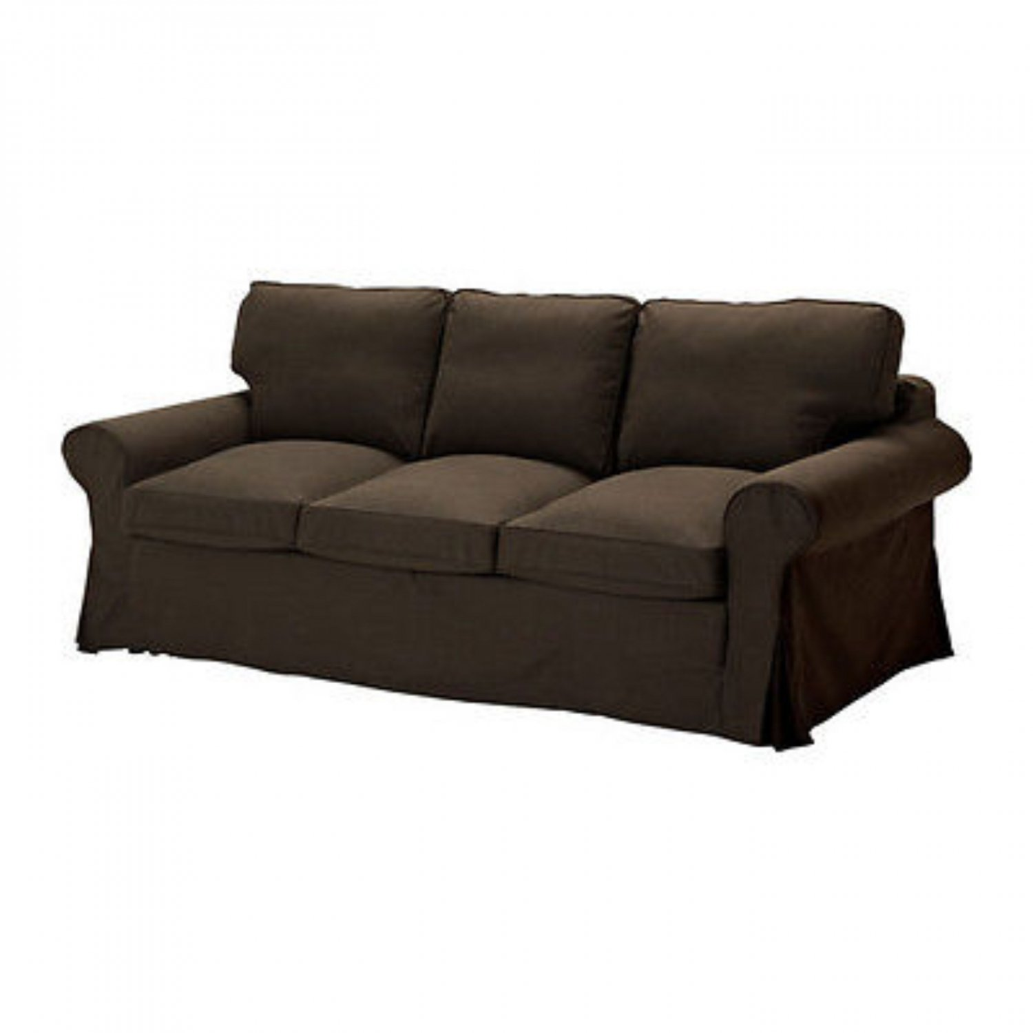Ikea Sofa 3 Ikea Ektorp Pixbo 3 Seater Sofa Bed Svanby Brown 301 824 28