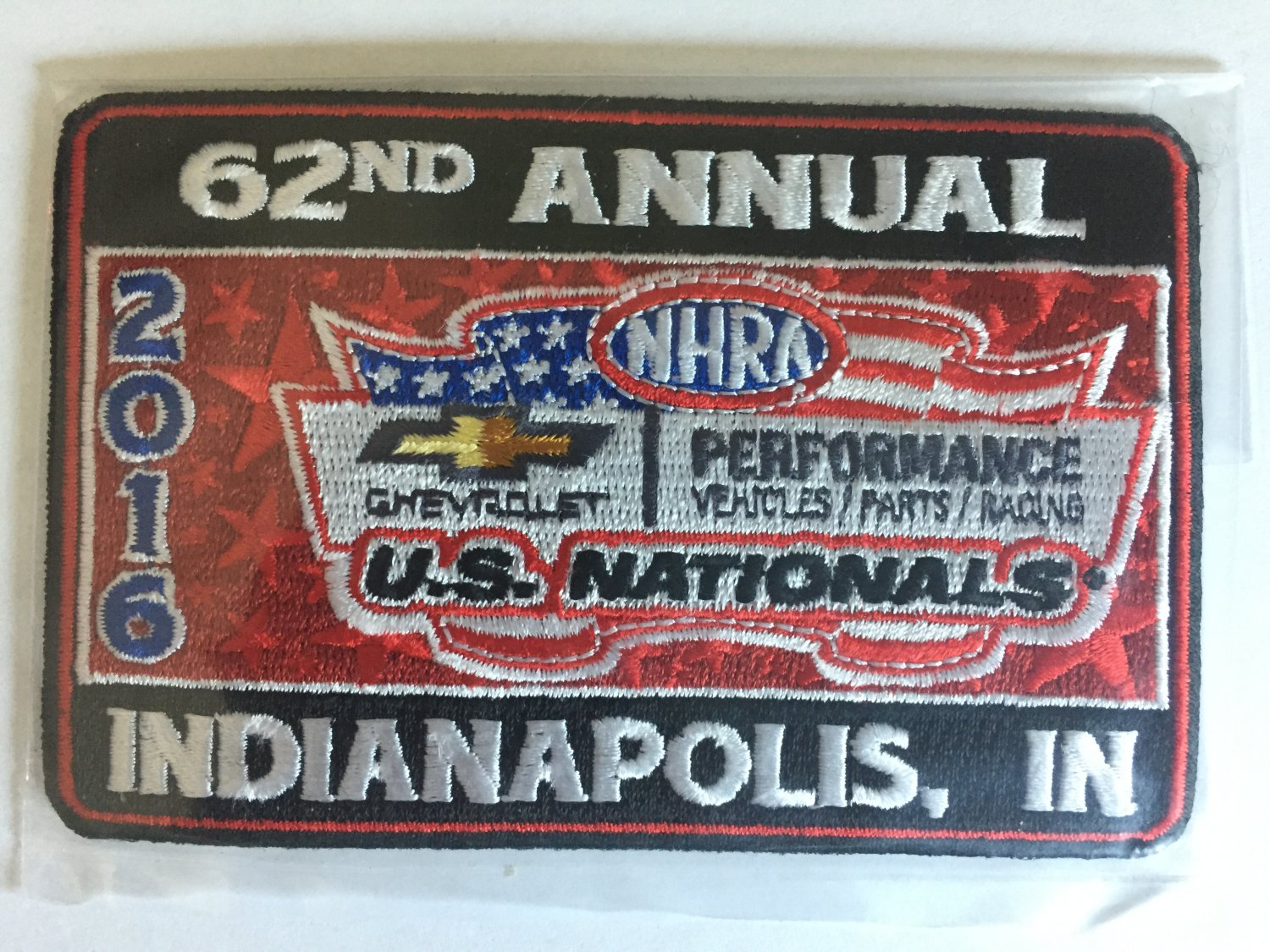 Epping Garden Supplies 2016 Nhra Event Patch Indy