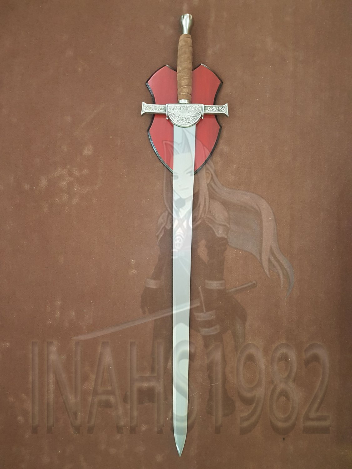 Sword Wall Plaques Highlander Clan Macleod Sword With Wall Plaque