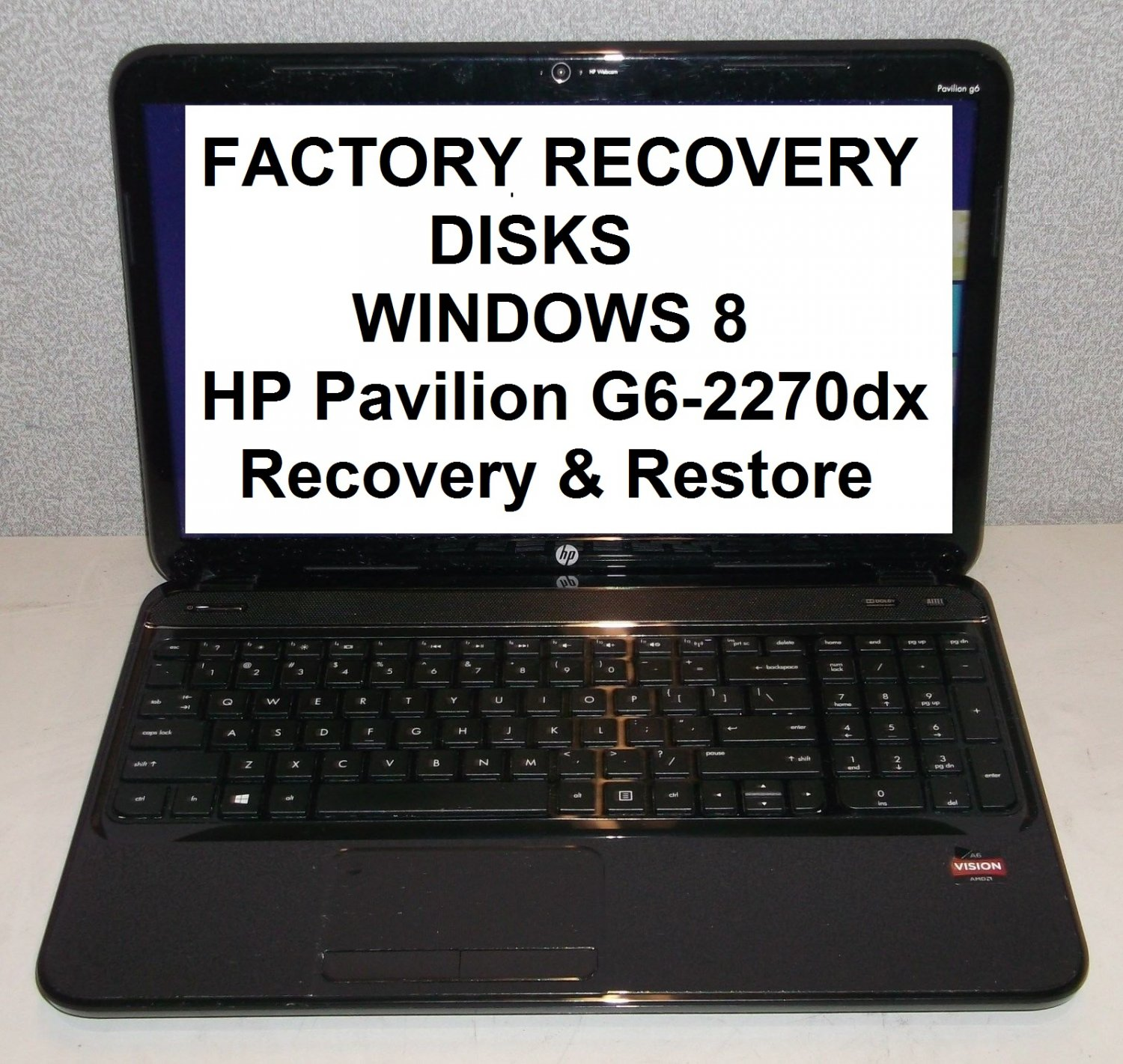 Hp Pavilion G6 Recovery Partition Download Free