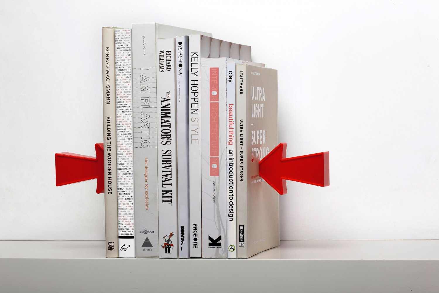 Kitchen Bookends Peleg Design 2 Arrow Magnetic Bookends Home Kitchen Gifts