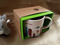 """2013 Starbucks """"You Are Here Collection"""" Boston City ..."""