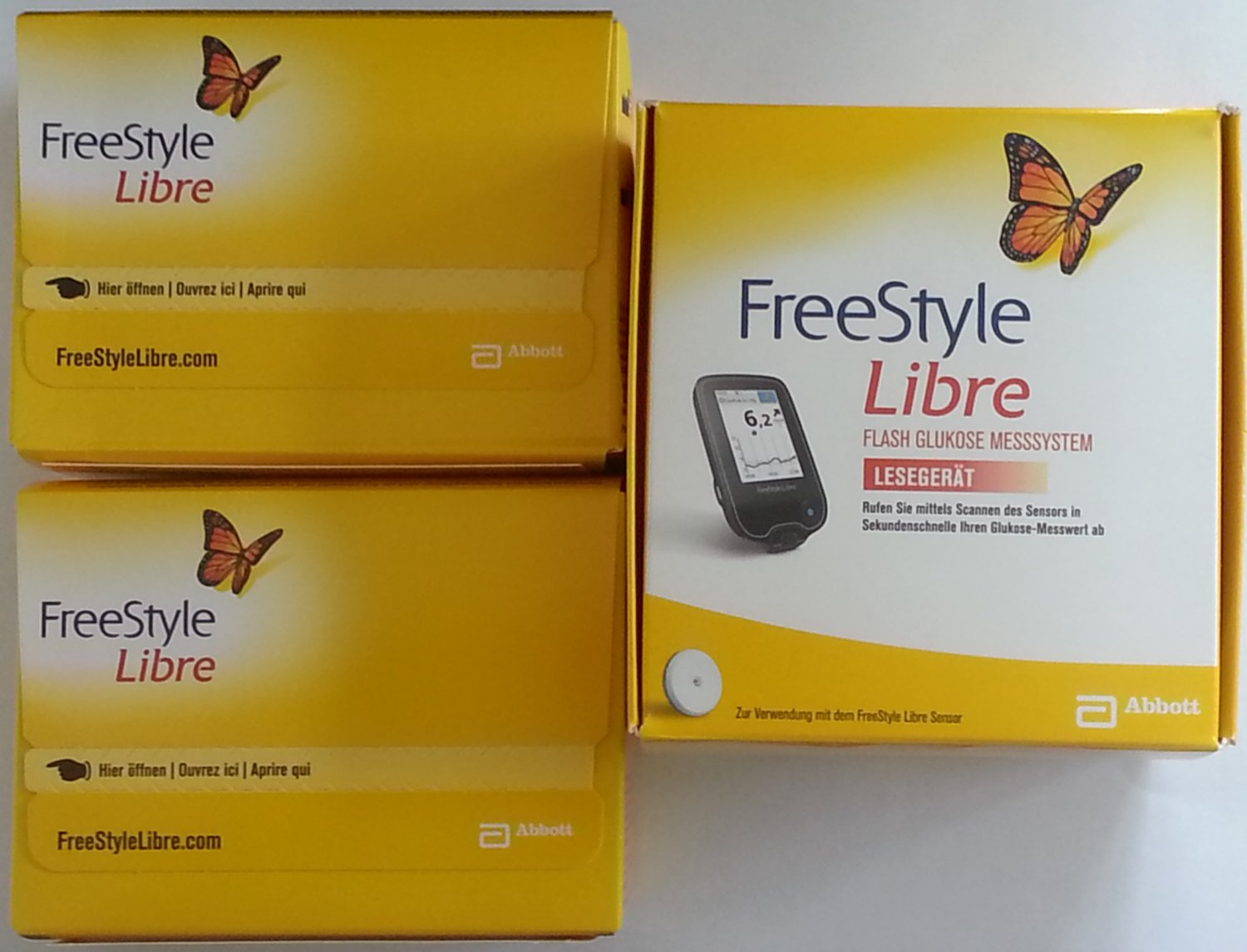 Abbott Freestyle Libre Abbott Freestyle Libre Starter Kit 1 Reader With 2 Sensors Unit Mg Dl