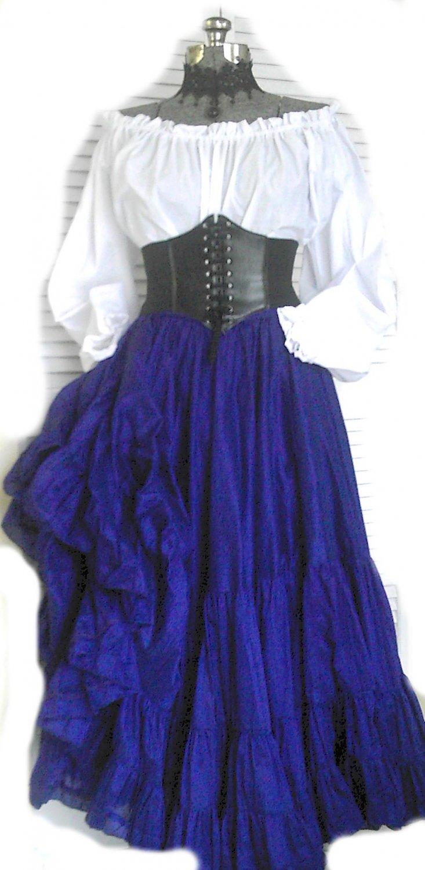 Renaissance Steampunk Costume Larp Corset Medieval Pirate
