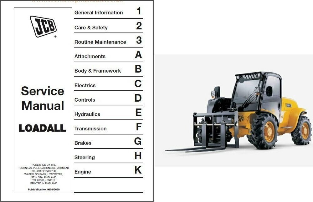 Jcb 520 50 Service Manual