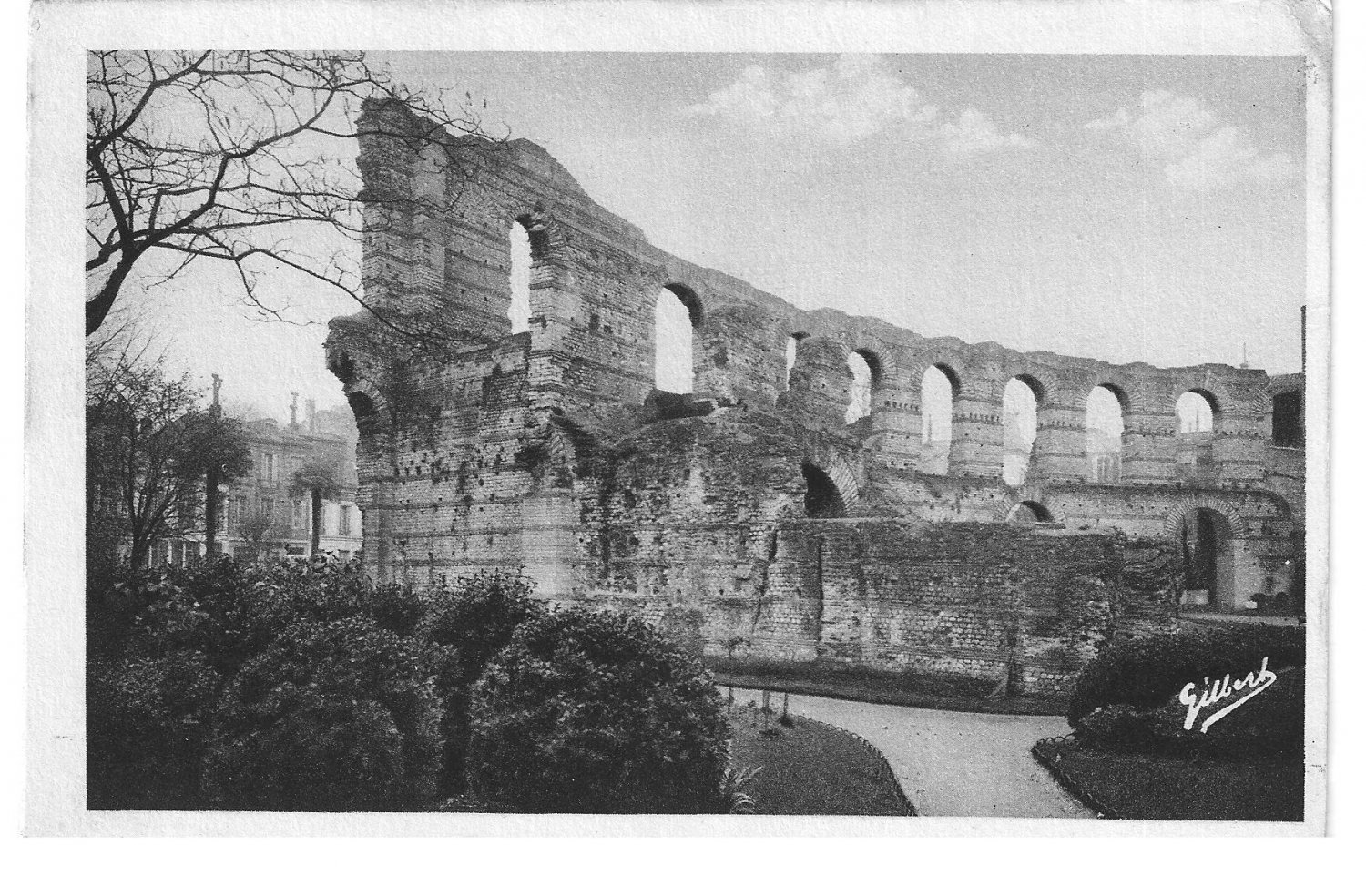 Aga France Vintage Postcard Sous Le Ciel France Aga 4121 Bordeaux