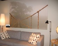 IKEA Premiar JUNGLE JOURNEY WALL ART Print HUGE Canvas ...