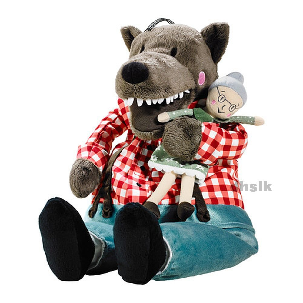Ikea Childrens Toys Ikea Lufsig Big Bad Wolf Grandmother Soft Plush Toy Little