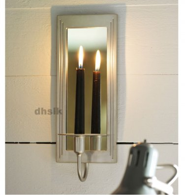 IKEA GEMENSKAP WALL SCONCE Candle Holder SILVER COLOR