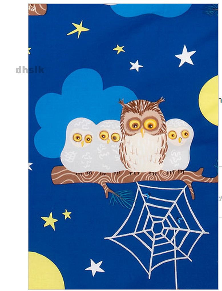 Ikea Vandring Uggla Twin Duvet Cover Pillowcases Set Blue Owl Night Last One - Ikea Vorhang Wilj