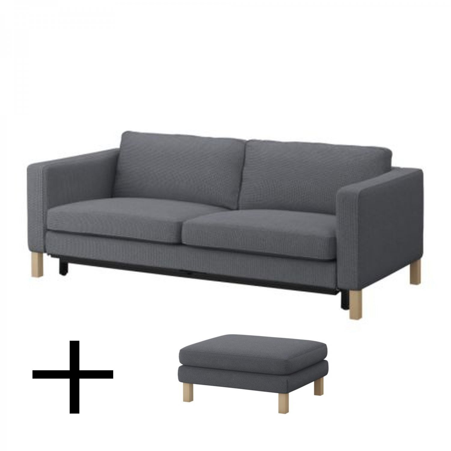 Ikea Sofa In Uk Ikea Karlstad Sofa Bed And Footstool Slipcovers Sofabed