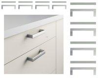 IKEA METRIK Set of 16 Drawer HANDLES Cabinet Pulls ...