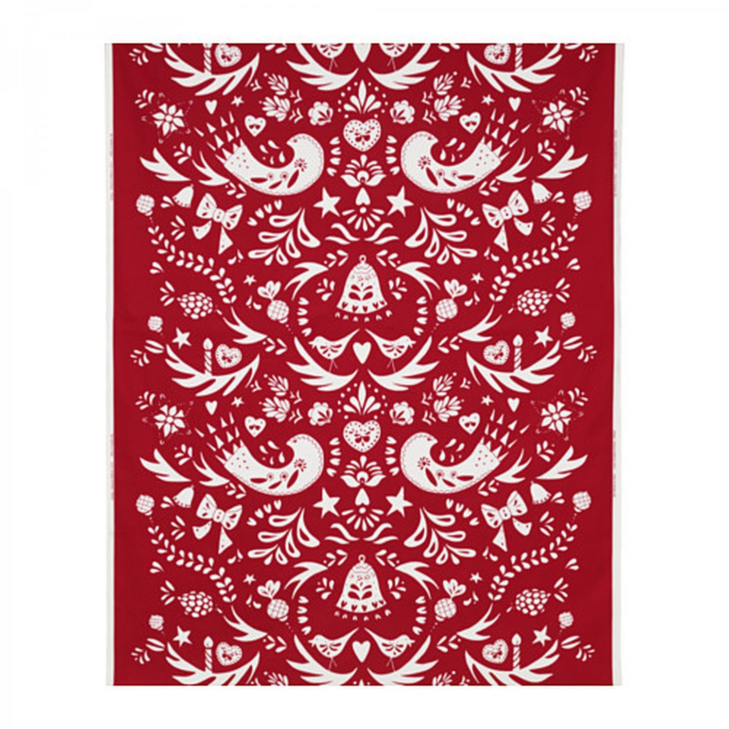 Ikea Textiles Ikea Vinter 2016 Fabric Material Red On White Scandinavian
