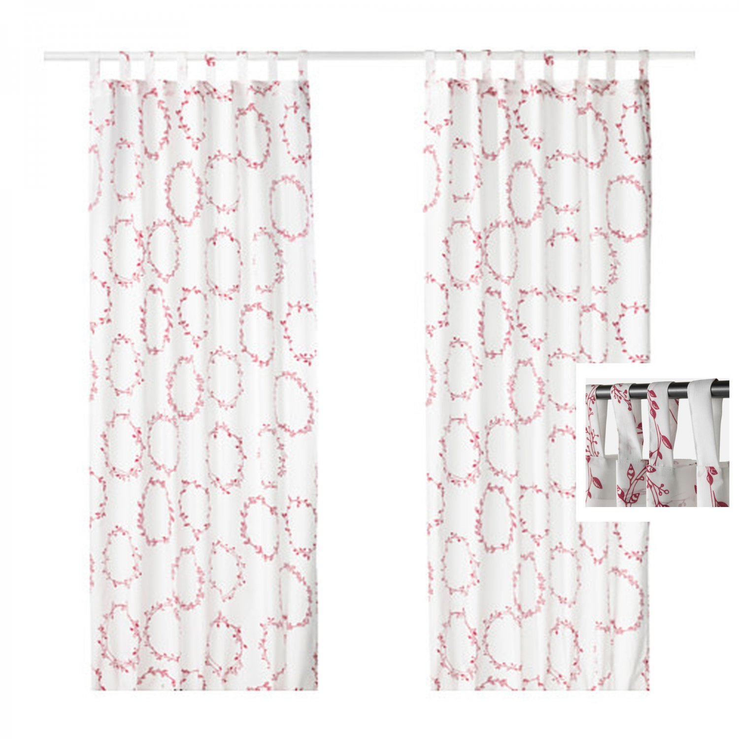 Ikea Vinter 2016 Teppich Ikea Vinter 2016 Drapes Curtains Red White Xmas Garland