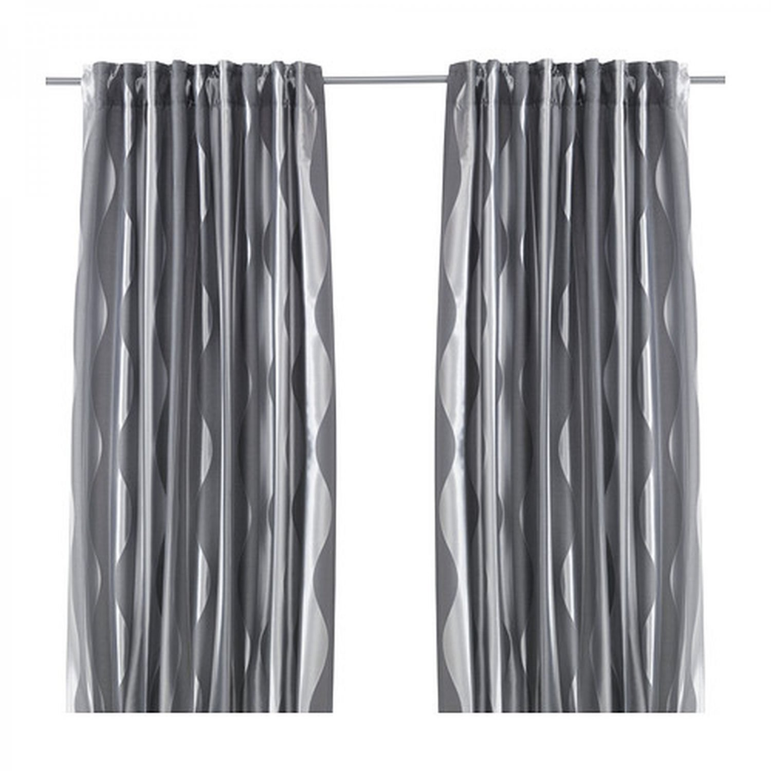 Ikea Perth Curtains Ikea Murruta Curtains Drapes 2 Panels Gray 98