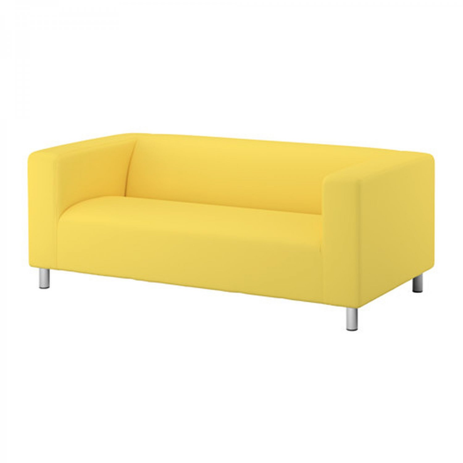 Ikea Bank Accessoires Ikea Klippan Loveseat Sofa Slipcover Cover Vissle Yellow