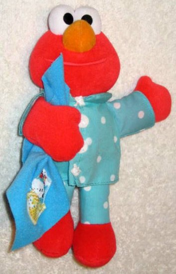 Ikea Batteries Sold Talking Elmo 9 Inch Plush Doll Tyco 1999 Sesame