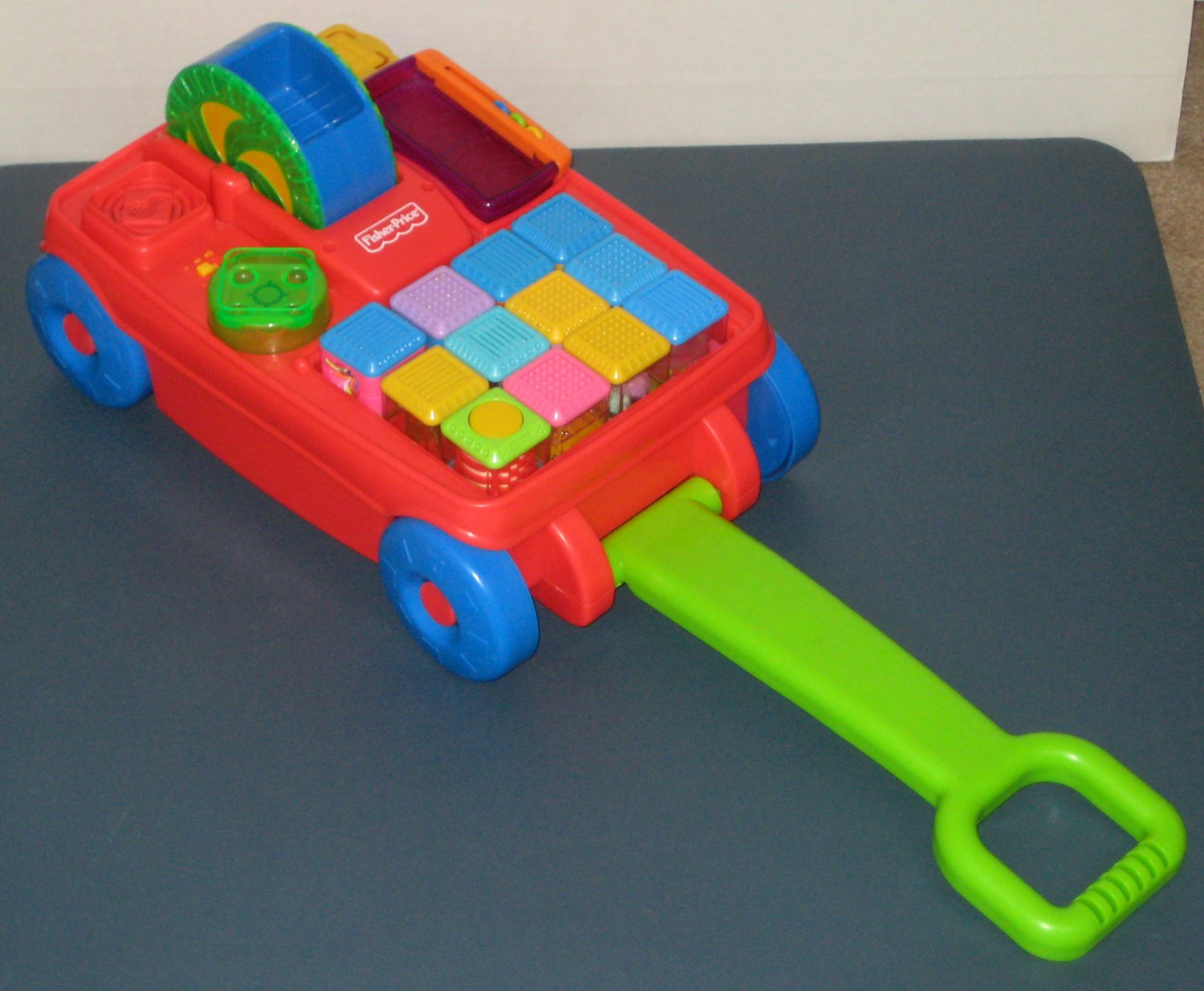 Mesa Musical Fisher Price Sold Fisher Price 2 In 1 Musical Activity Wagon With 24