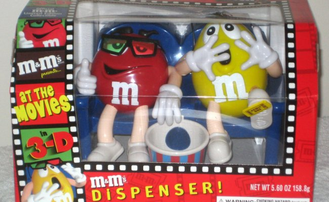 Sold Out M M S Candy Dispenser At The Movies 3d Glasses