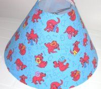 Clifford the Big Red Dog Alphabet Lamp Shade