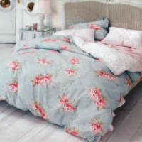 Simply Shabby Chic HYDRANGEA ROSE King Duvet NO SHAMS ...