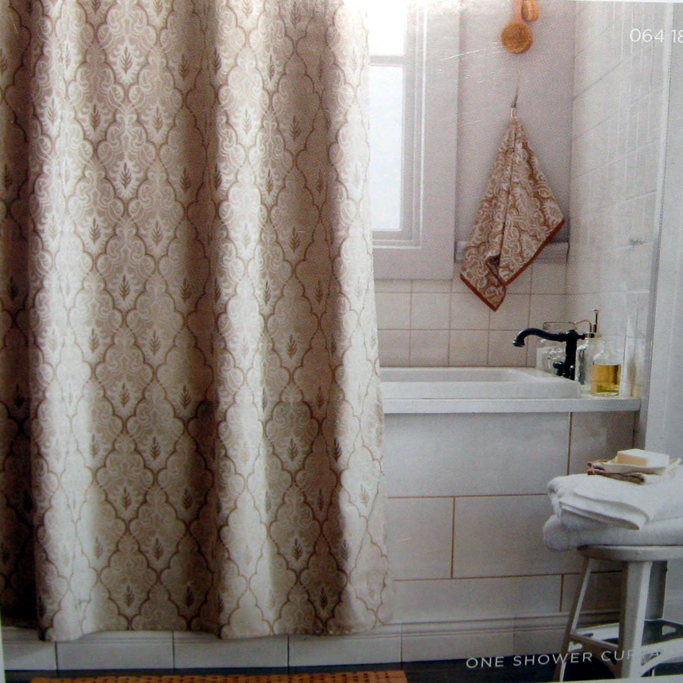 Brown Shower Curtain Target Threshold Tan Ogee Fabric Shower Curtain Target Tan Beige Brown