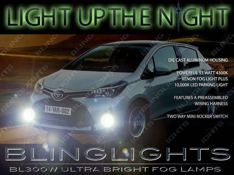 2015 2016 2017 2018 Toyota Yaris Xenon Fog Lamps Lights Kit