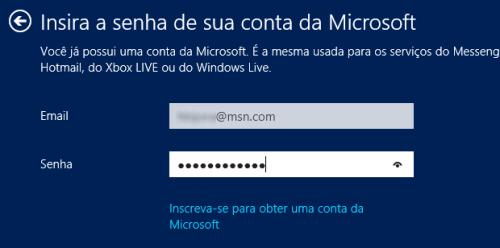 Configurando uma conta Windows Live no Windows 8 (Foto: (Foto ...