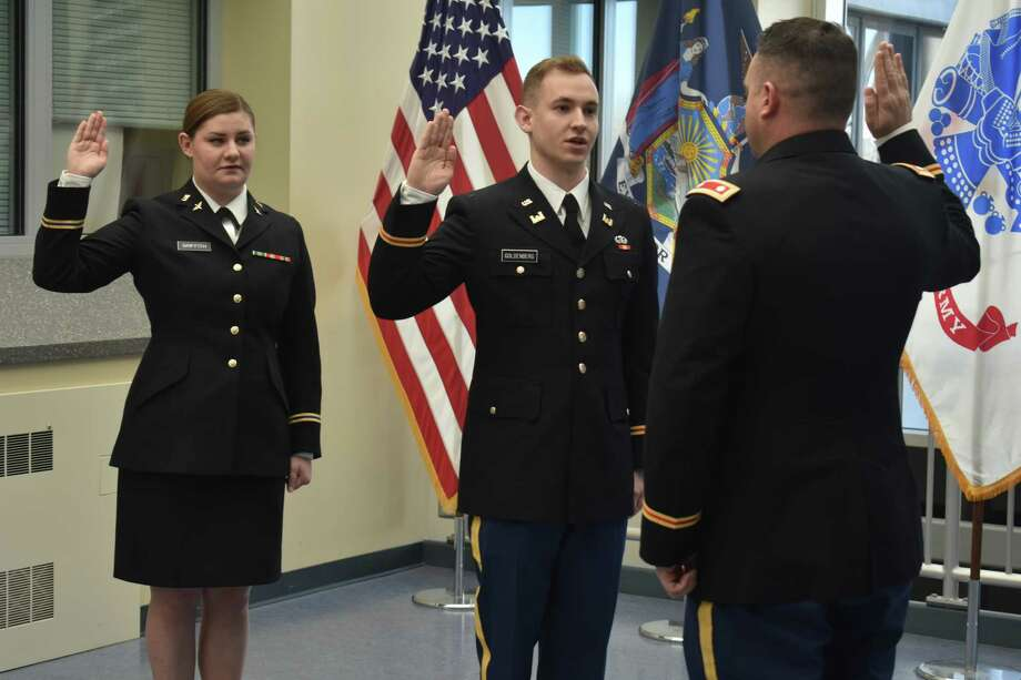 Duty Calls Army ROTC cadets commissioned as second lieutenants