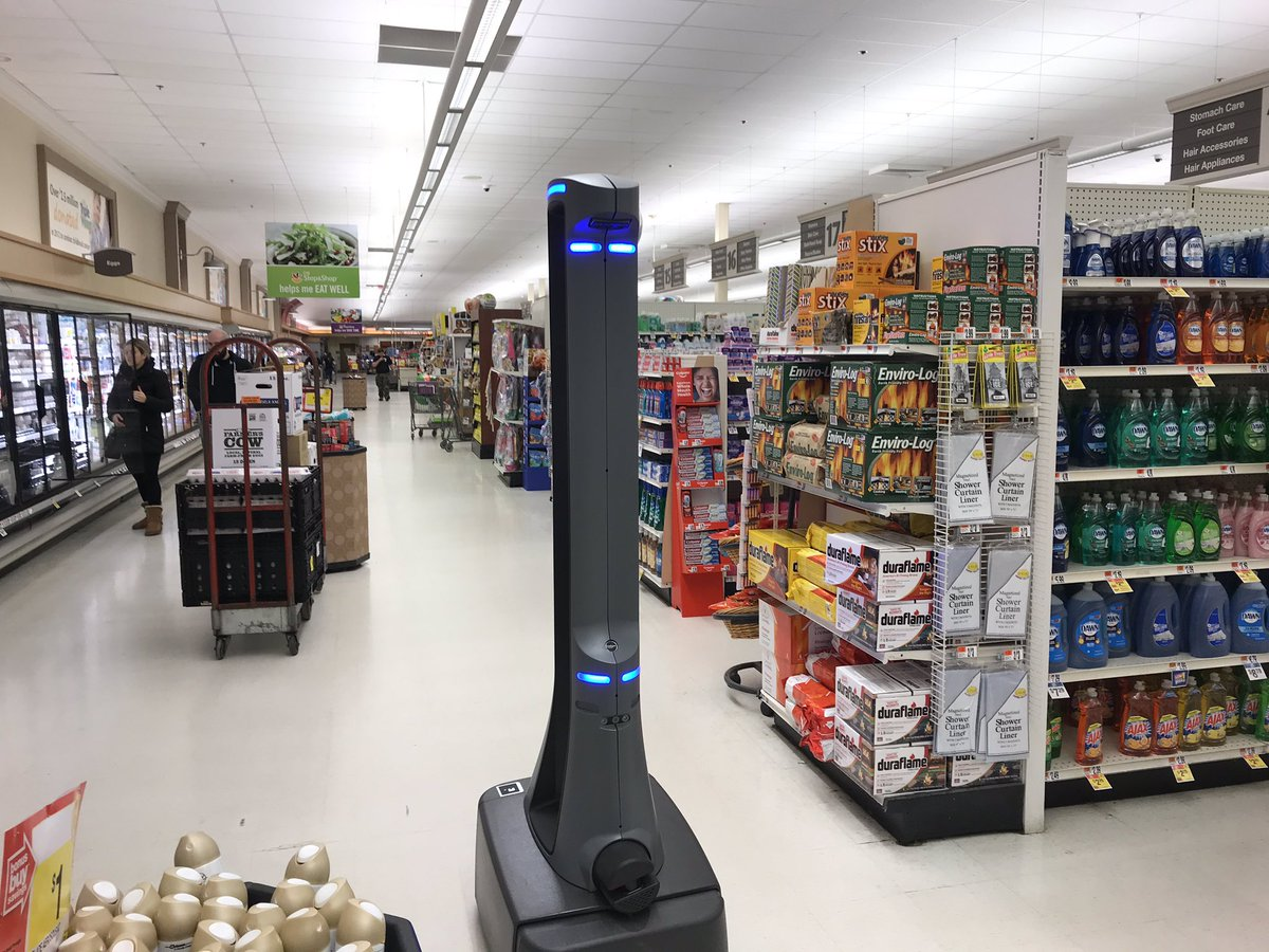 Fenster Stores Marty The Robot Designed To Steal Union Jobs Workers Say